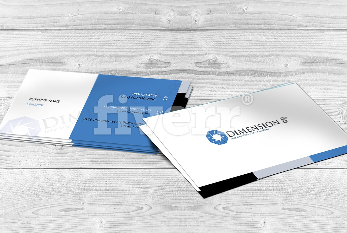 Design outstanding business card template by arnabkumar reheart Image collections