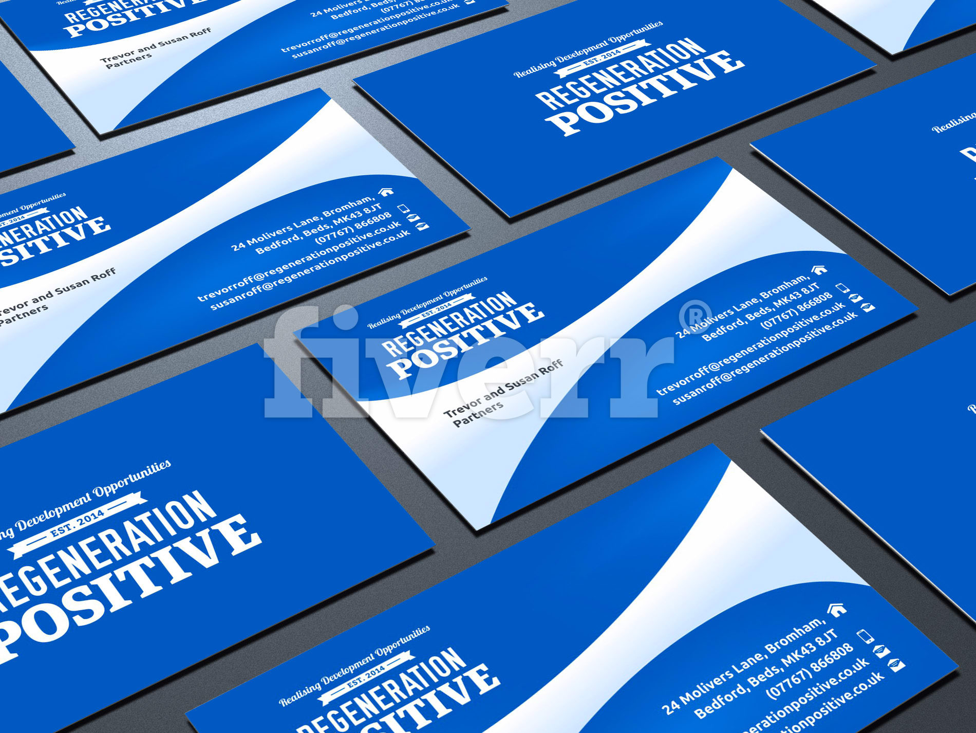 Design double business card and letterhead and envelop by bahudes reheart Images