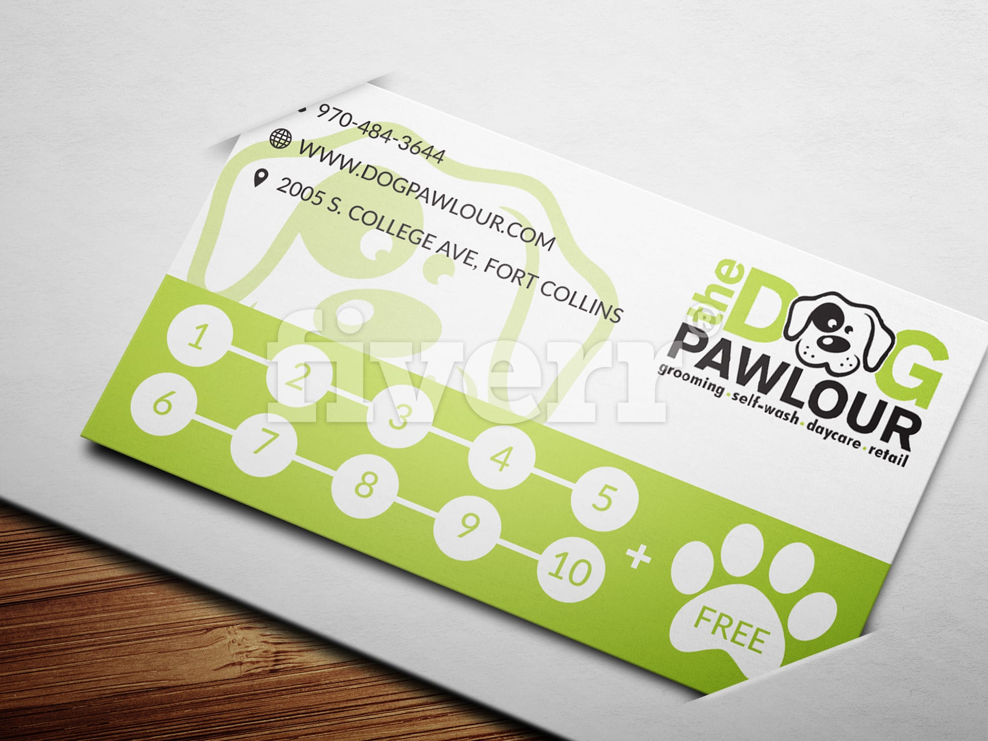 Design an awesome business card by livedesigner colourmoves