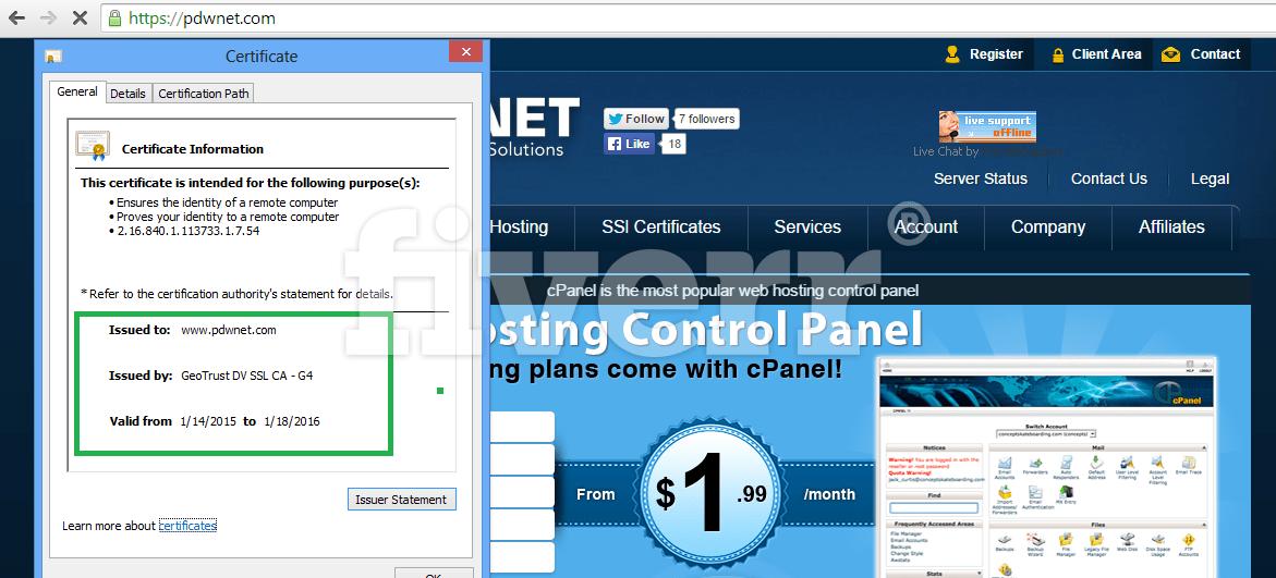 Install Ssl Configure Or Setup Ssl Certificate By Kunwar