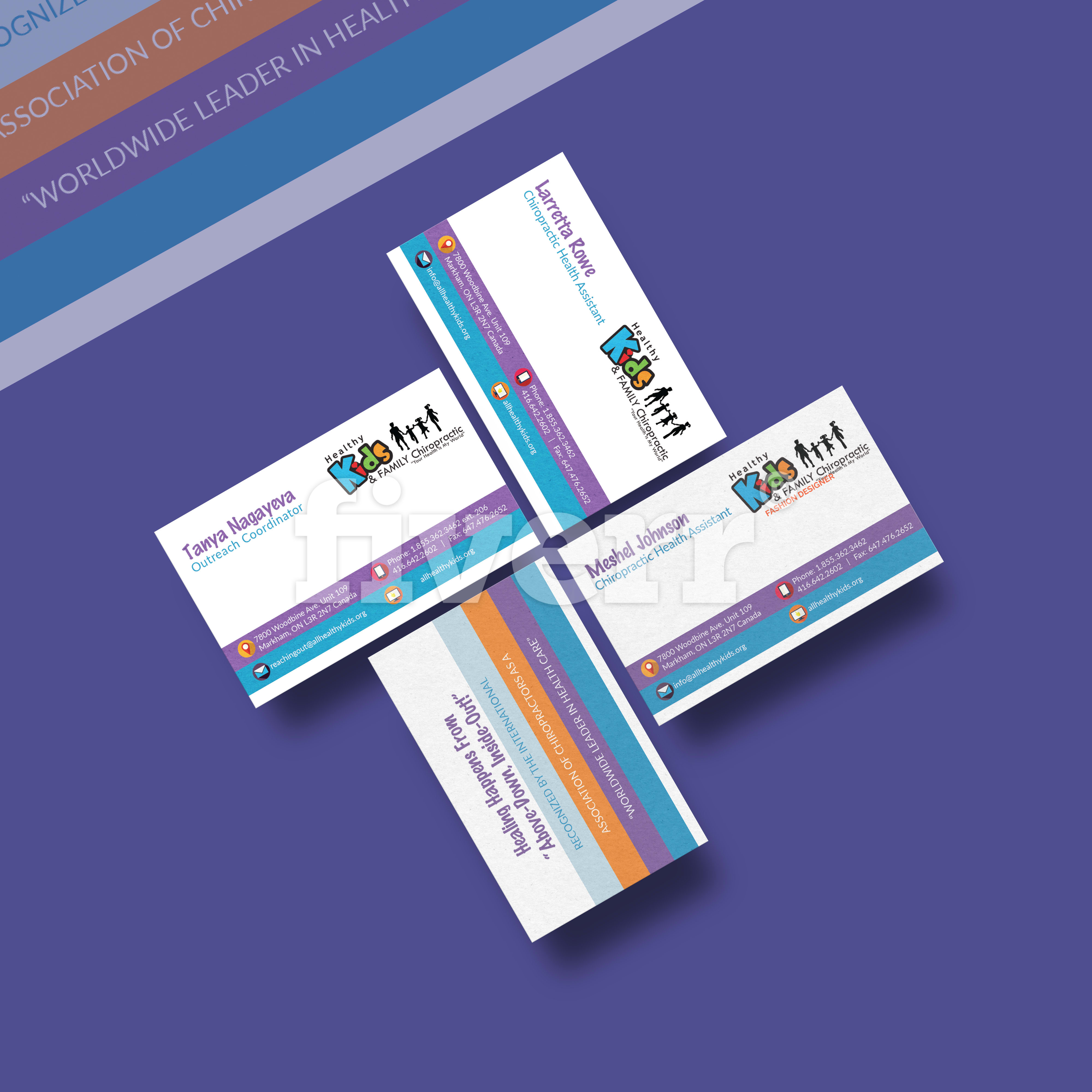 Design business card with qr code by lamberti colourmoves