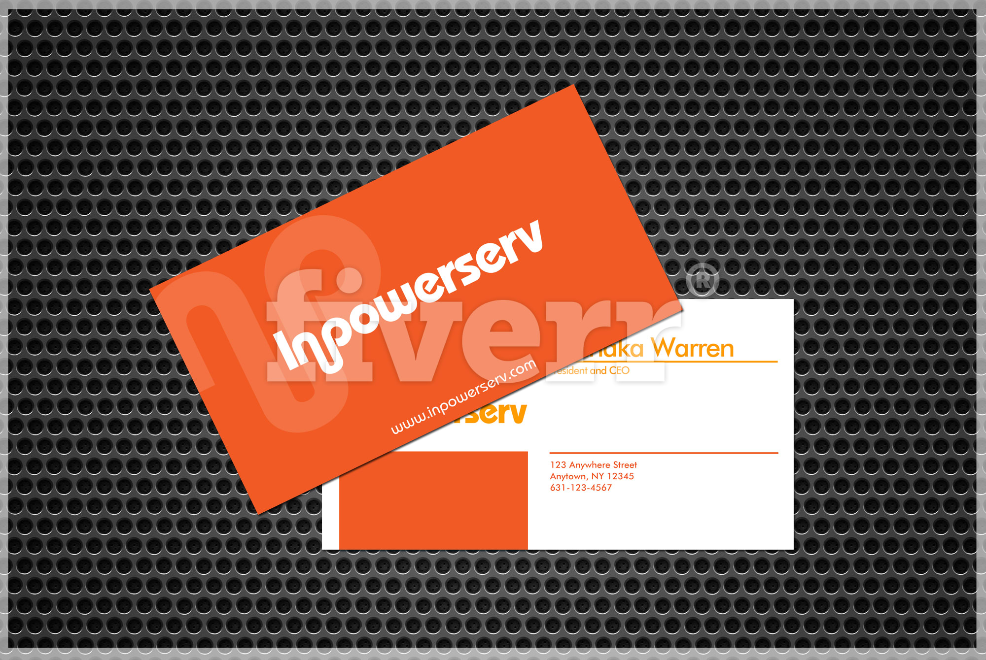 Design a new business card by realmanhuth reheart Choice Image