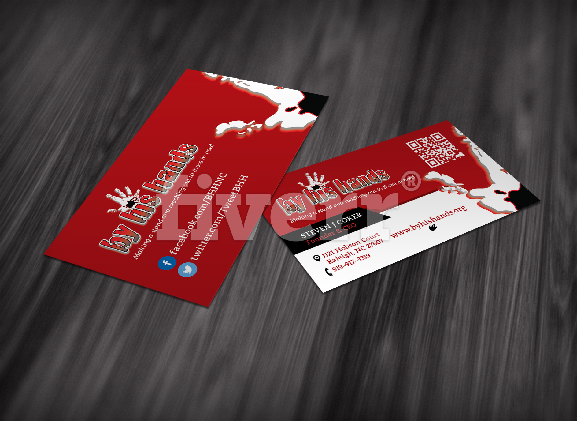 Design outstanding double side business card by rigerspopa reheart Images