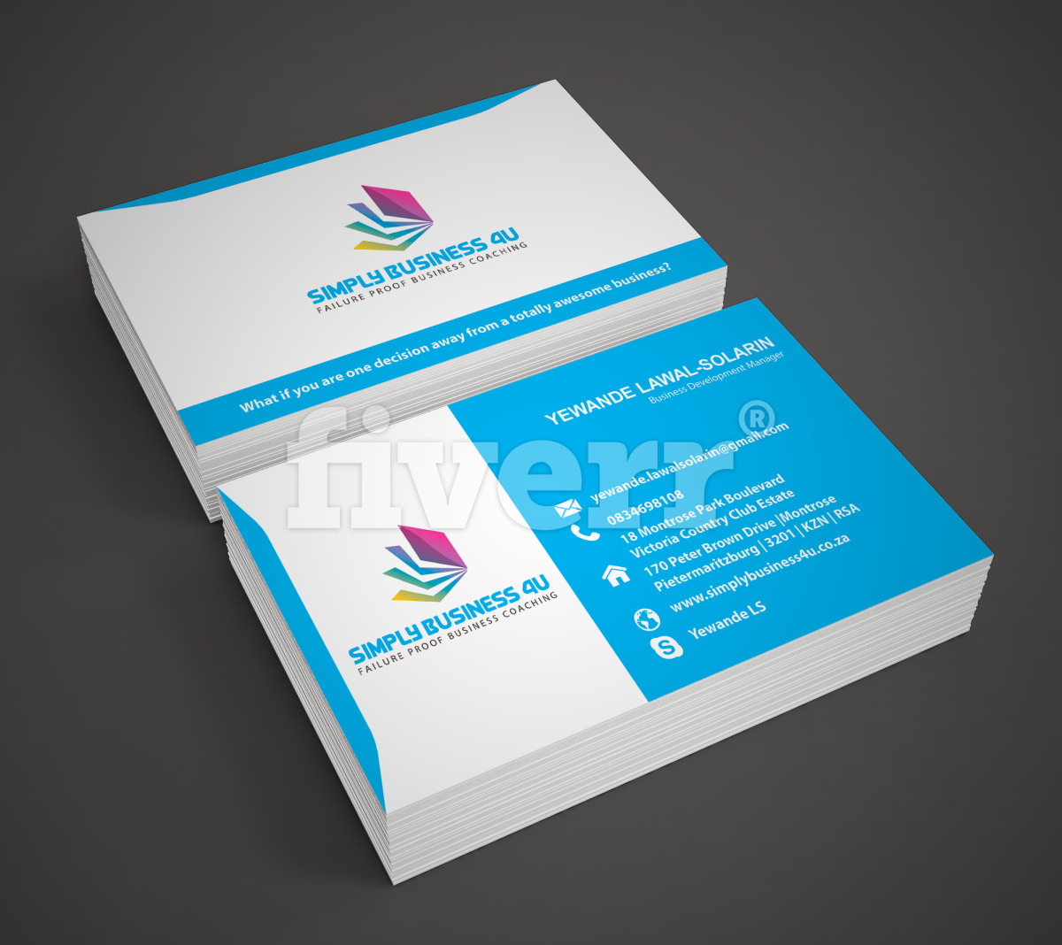 Design smart business card by Zahir24