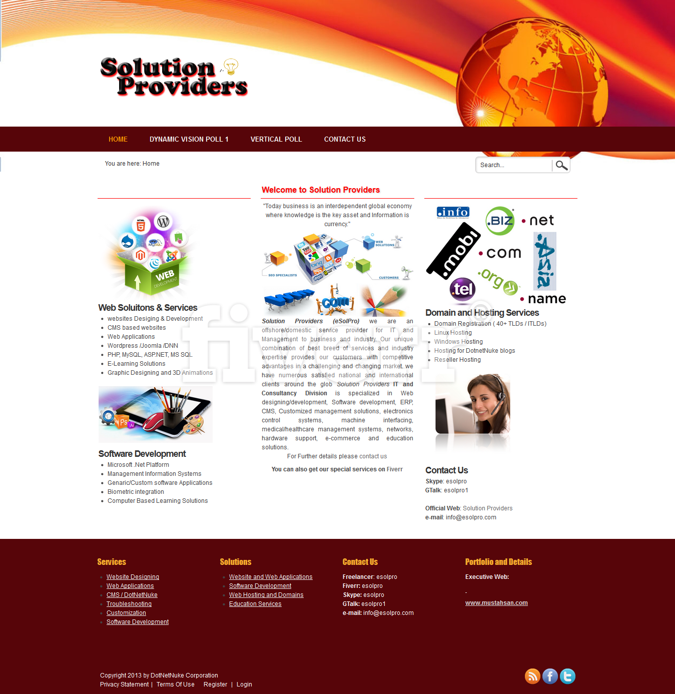 Fix dotnetnuke dnn evoq website skin and module issues by Esolpro