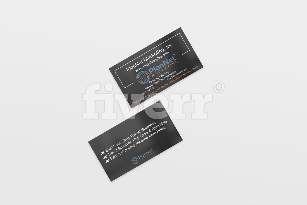 Design a professional business card fiverr colourmoves