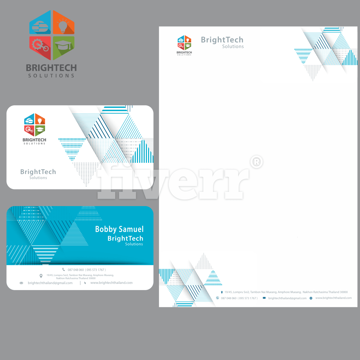 Do logo business card letterhead and stationary by varunwadhawan33 reheart Images