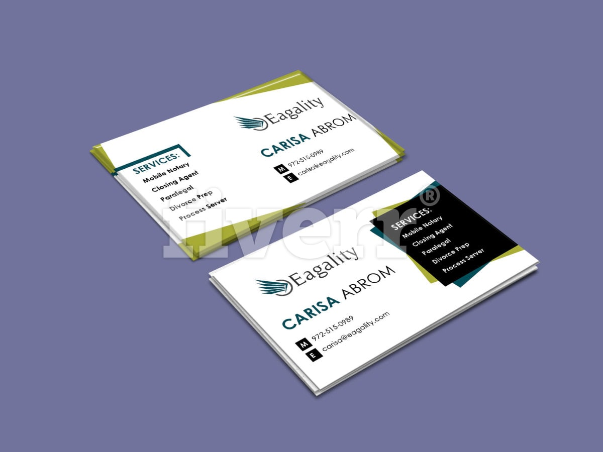 Design outstanding business card by Musmanr