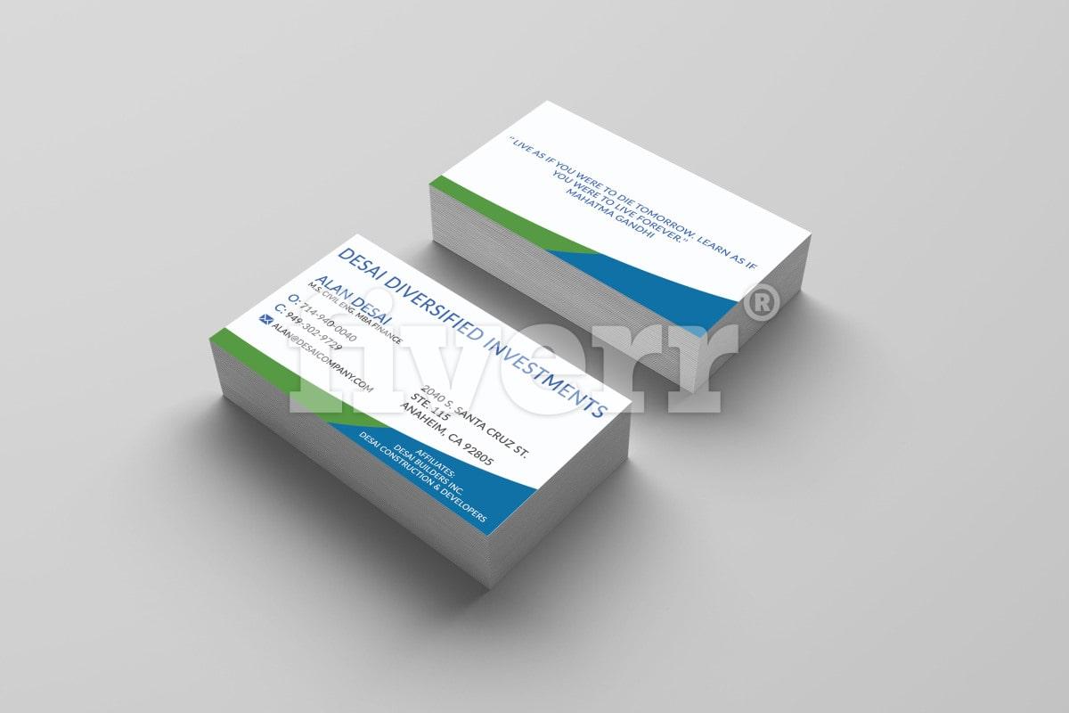 Design professional business card for your company colourmoves