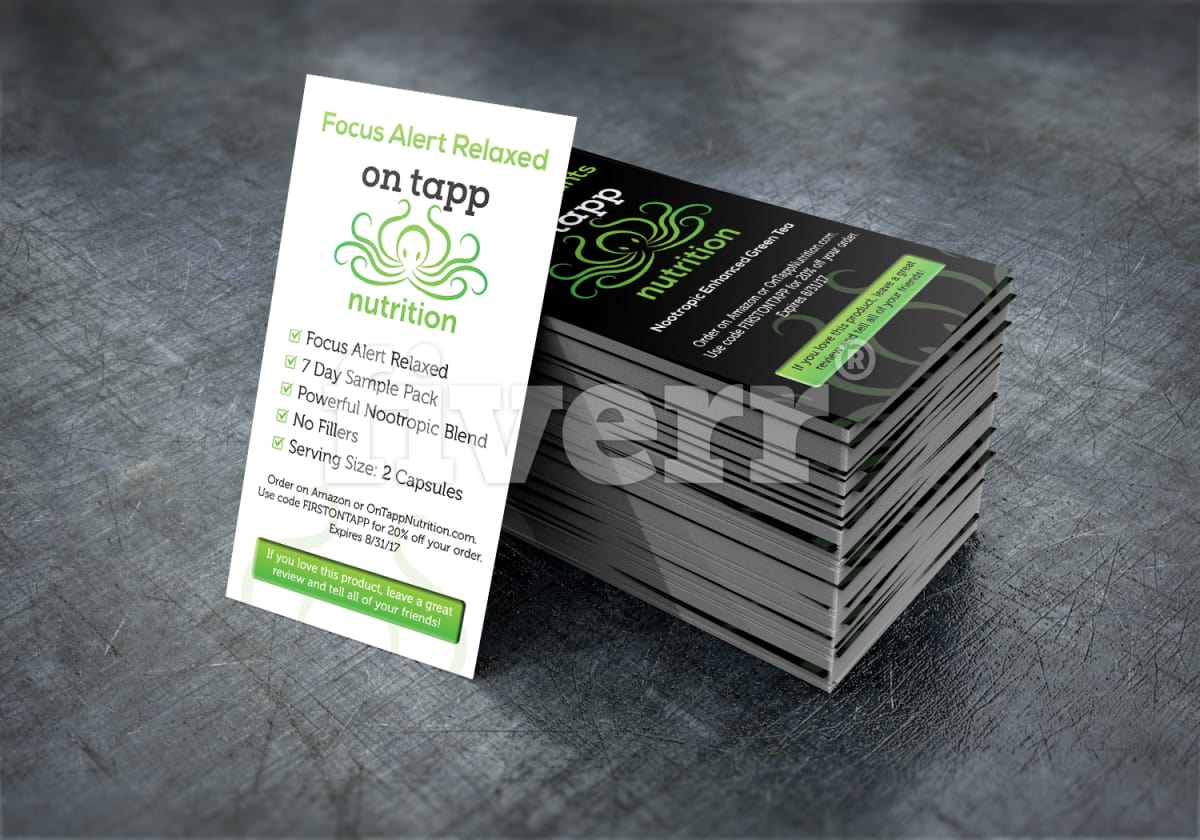 Design a professional printable 2 sided business card by huester1 reheart Gallery