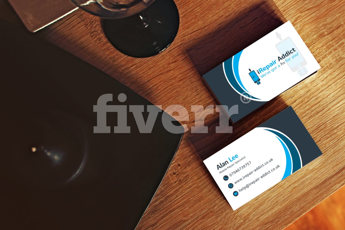 Do business card design in 48 hours by Weperfectionist