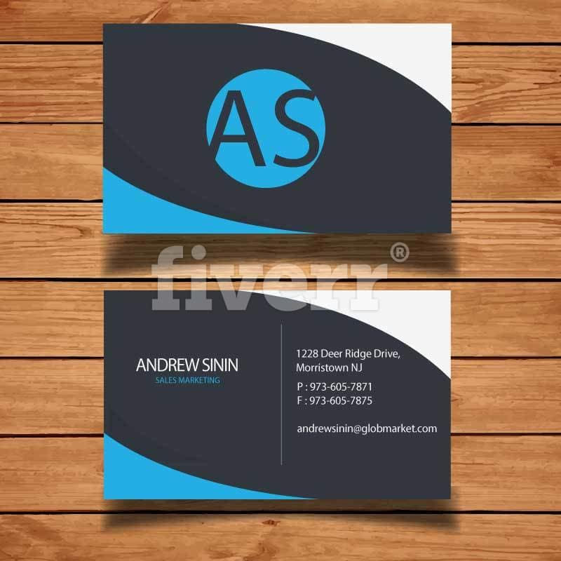 Design outstanding double sides business card by mochammadhendri reheart Image collections