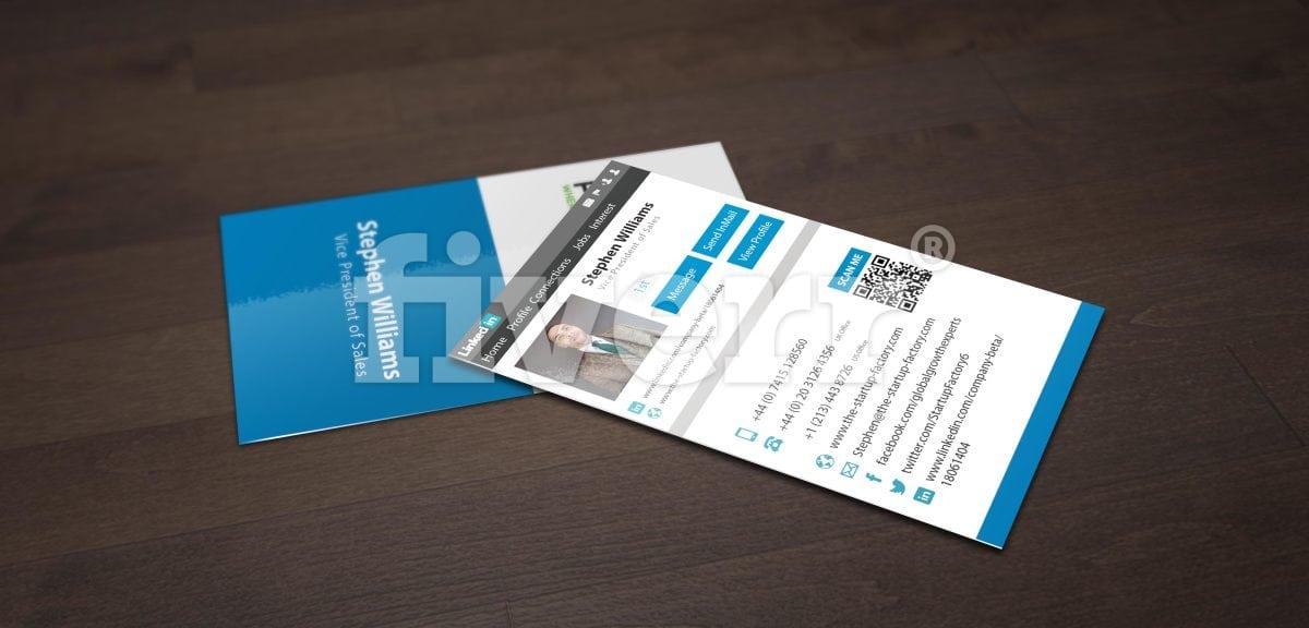 Convert your linkedin into business card by grapkisdesigner colourmoves