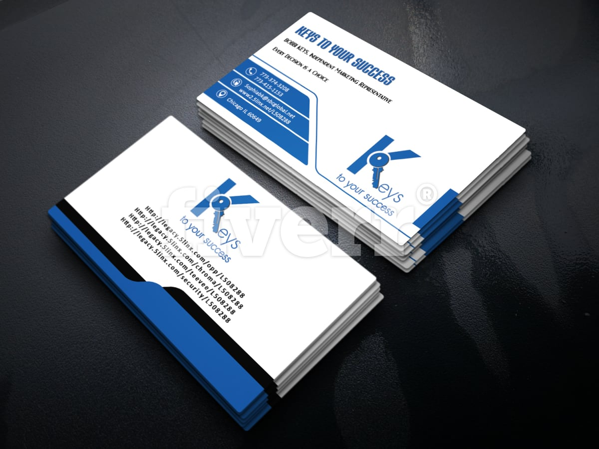 Design outstanding 2side business card by rosariotouch colourmoves