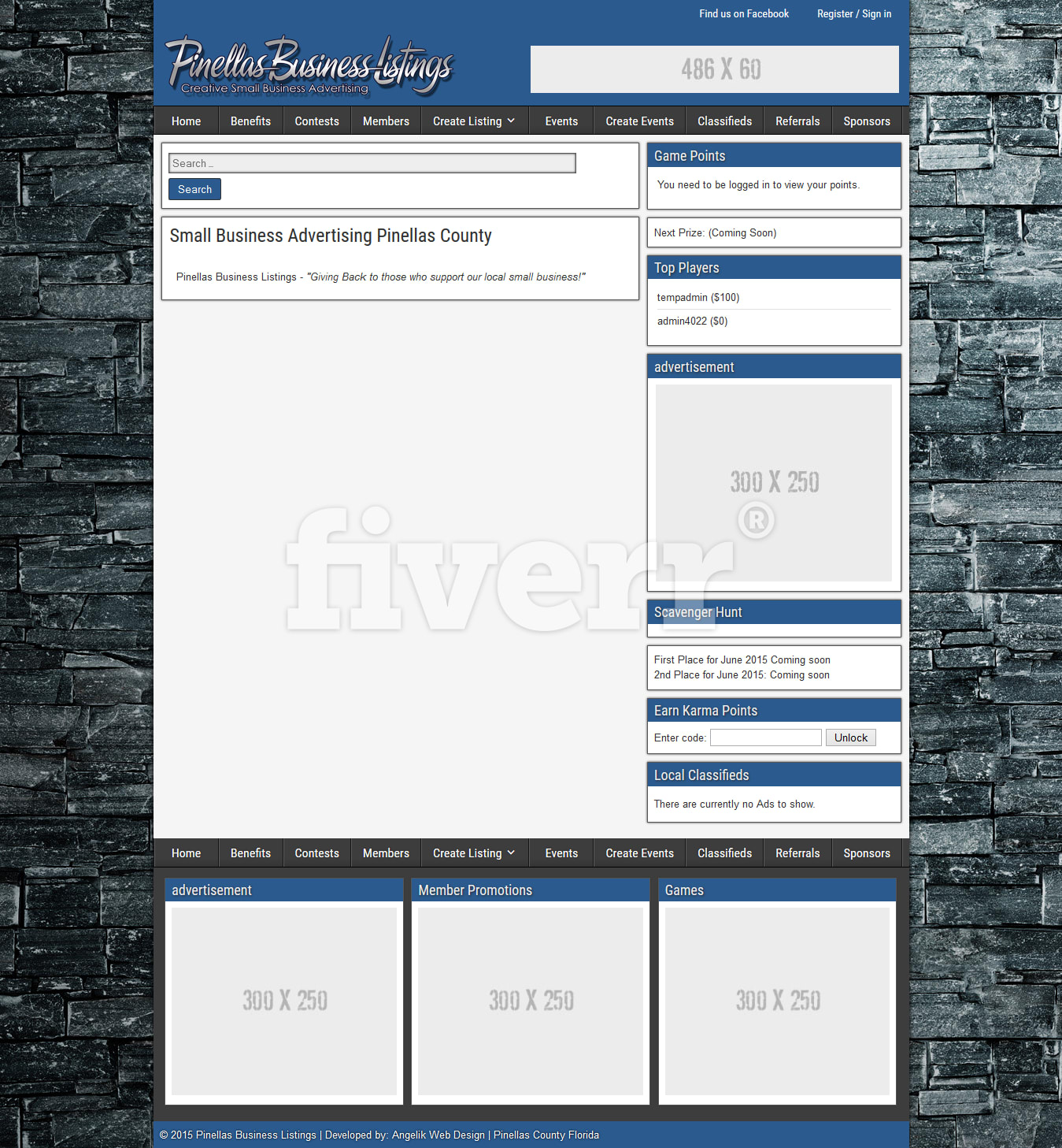 Customize wordpress template theme by Blessysoftwares