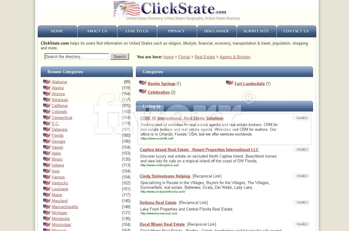 list your site on PR5 US Local Directory