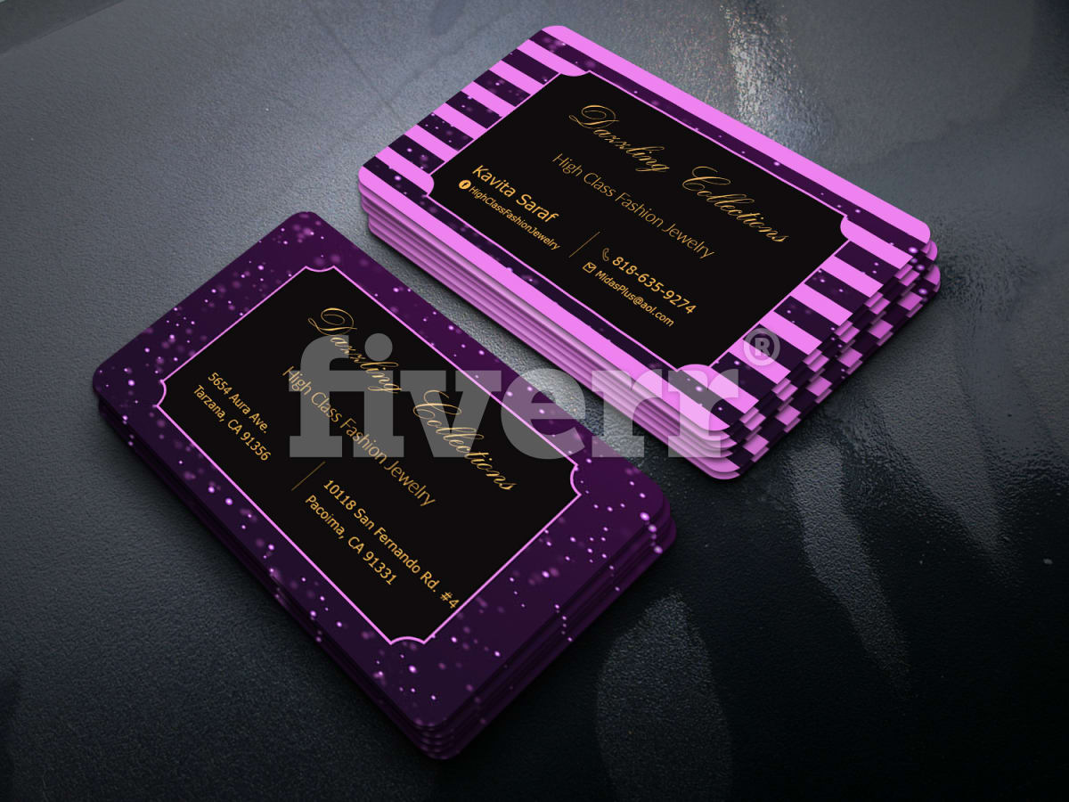 Design professional 2 sided business card within 24 hours by prosanjit12 reheart Image collections
