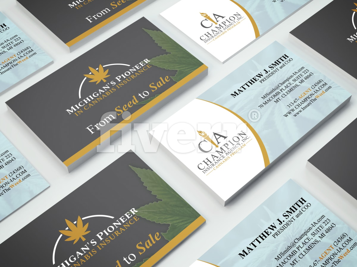 Design professional business card by sarfrazjasim reheart Images