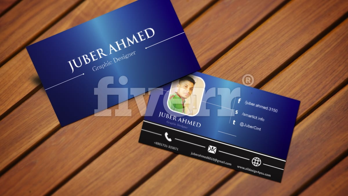 Design smart business card by Smartict
