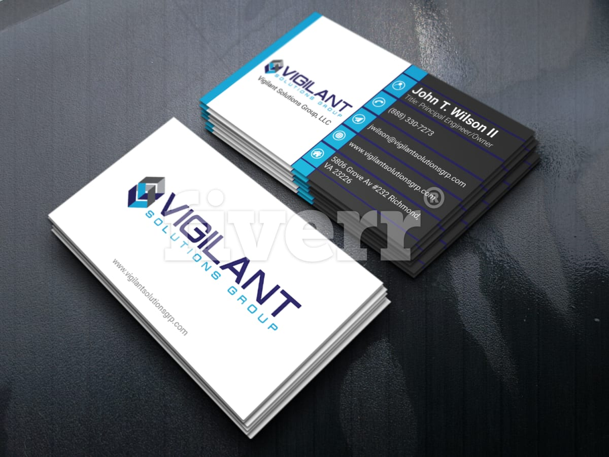 Design amazing and professional business card for you by sisaifbd colourmoves