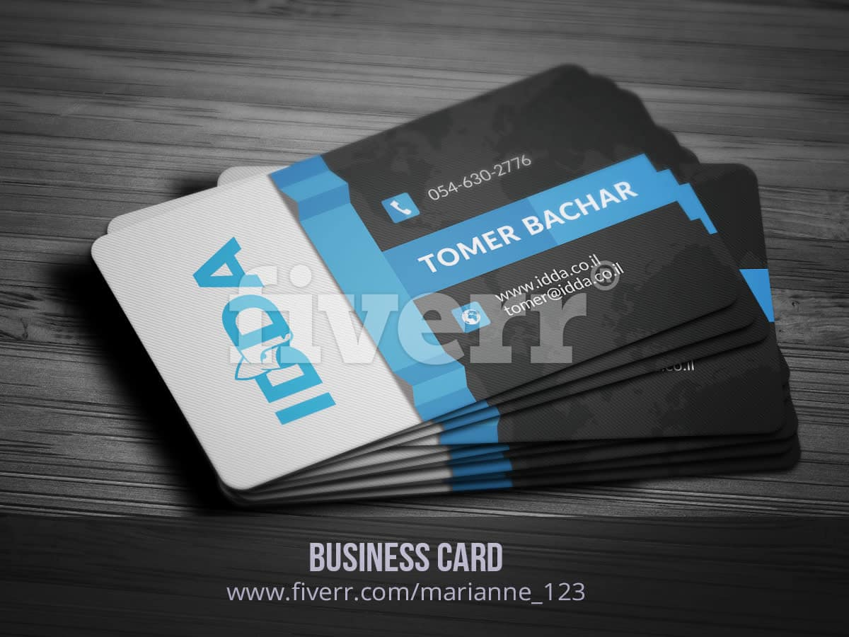 Design business cards within 24 hours by Marianne_123