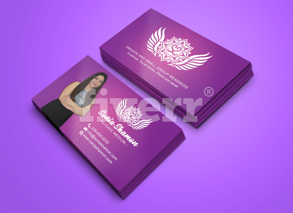 I Will Design a Professional Business Card