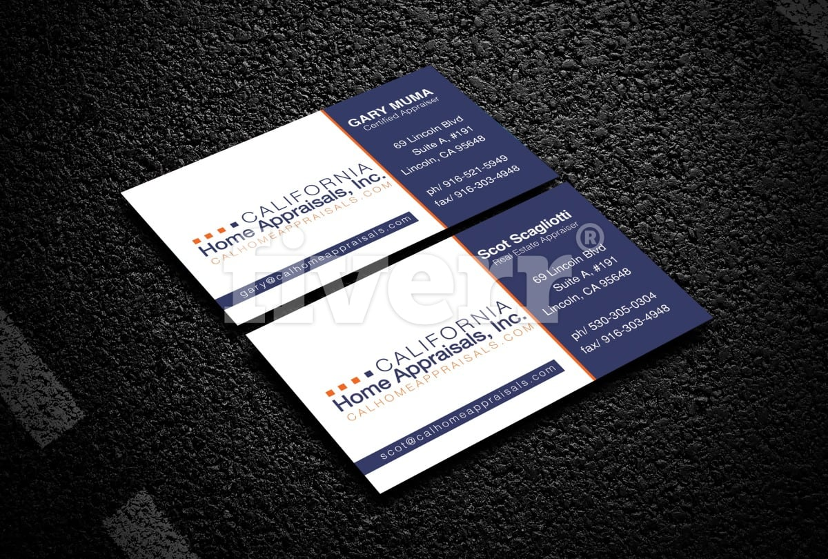 Do professional business card design by ai9raj reheart Gallery