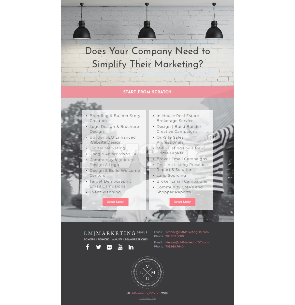 Design Responsive HTML Email Template, Newsletter