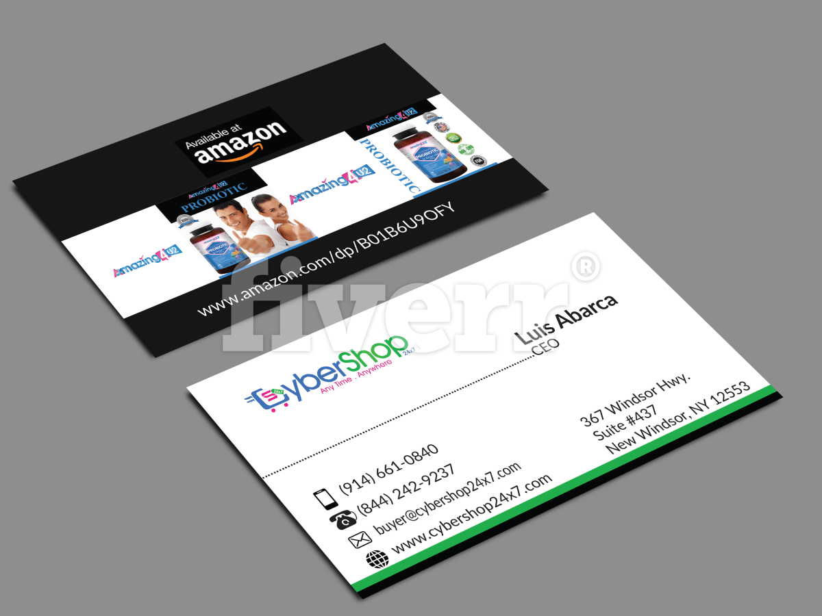 Awesome Business Card Design Superfast By Nayanhasan481