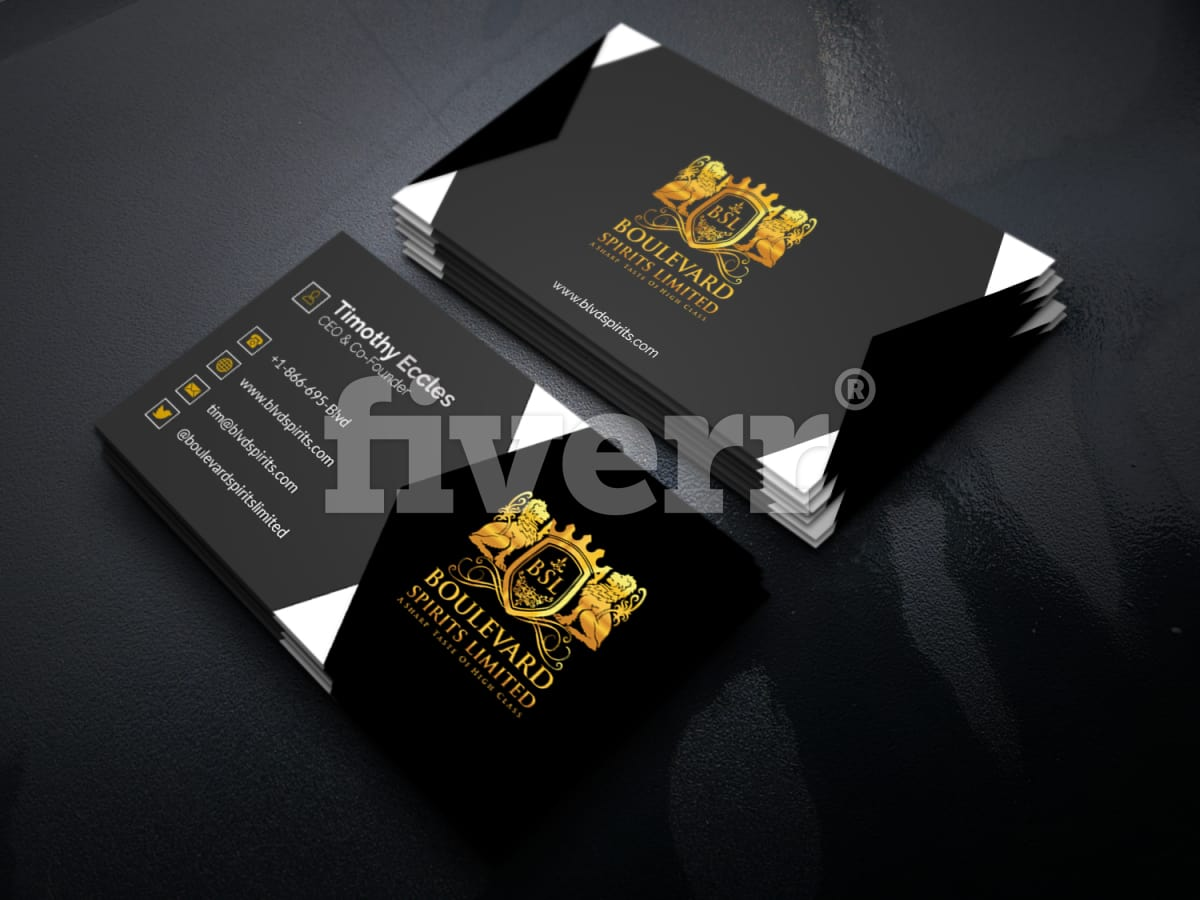 Design professional 2 sided business card within 24 hours by Prosanjit12