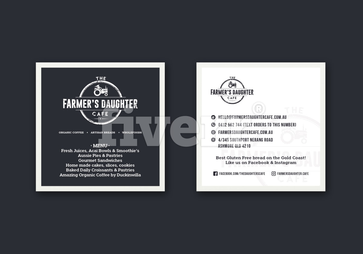 Design print ready business card by milosb reheart Images