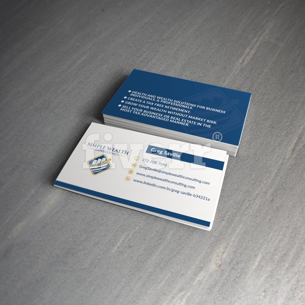 Design print ready business card by milosb reheart