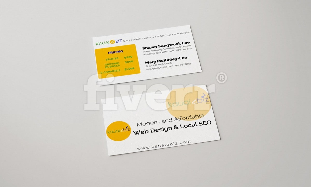 Design an outstanding business card by bilalhaider23 reheart Images