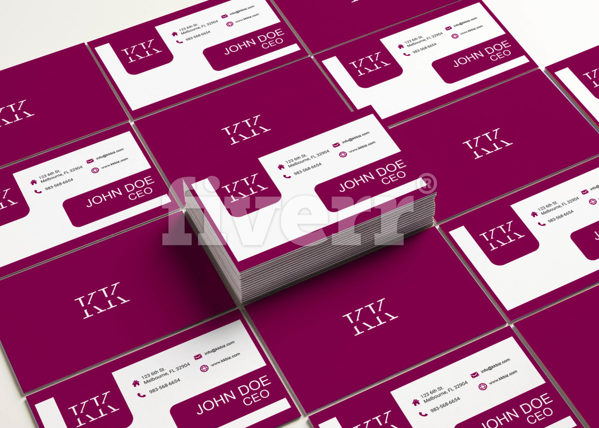 Do business card or business cards design fiverr colourmoves