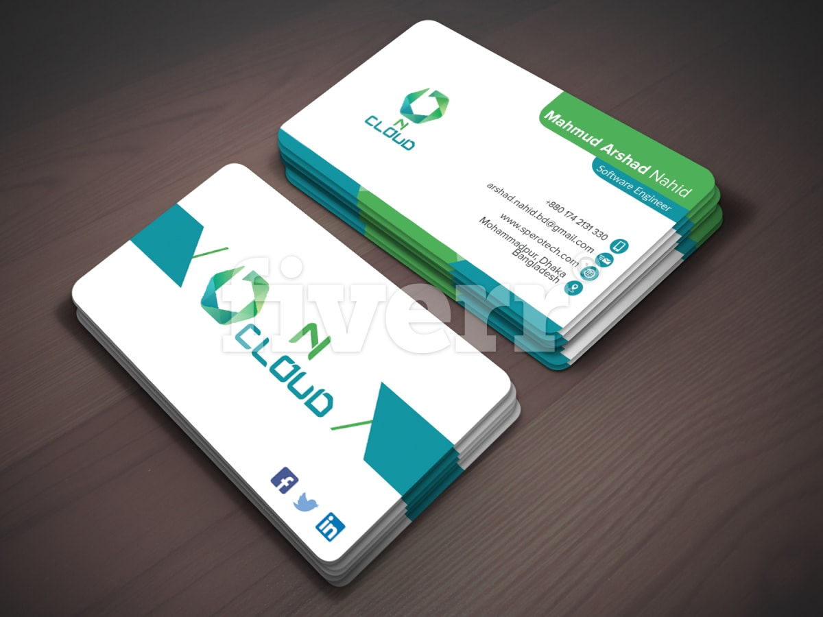 Design professional business cards within 24 hours by Nandan_roy