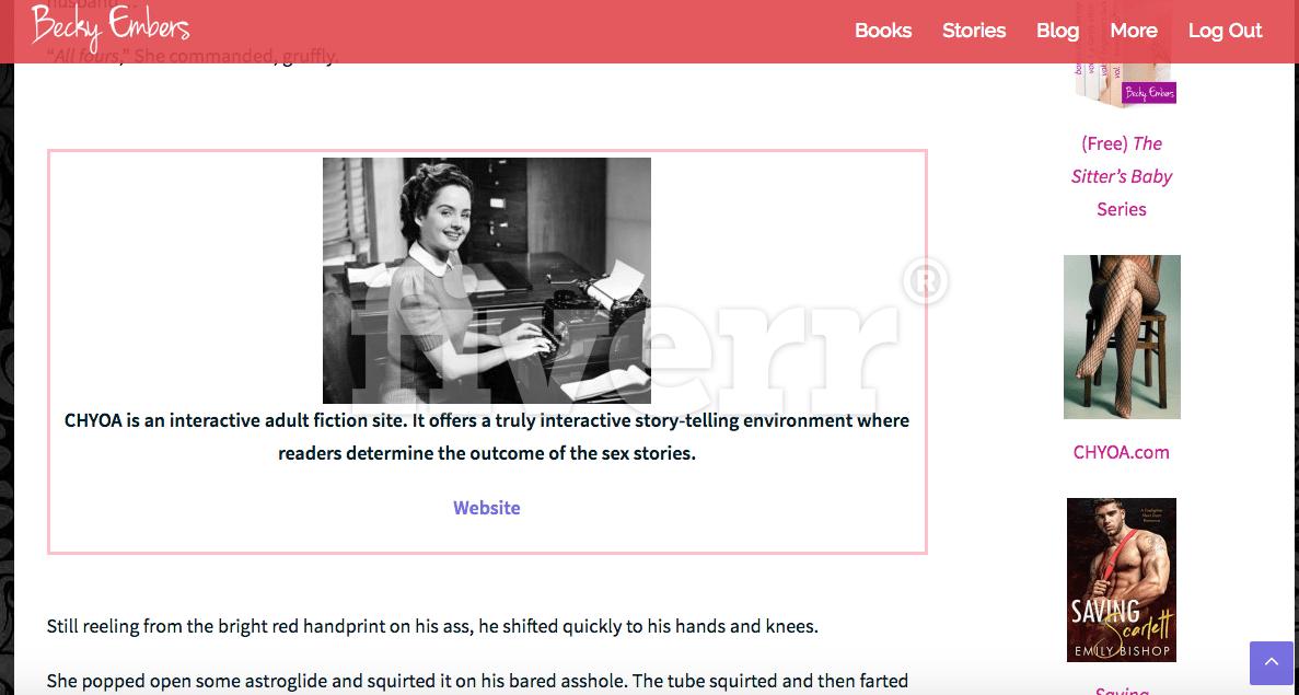 Erotica reader website