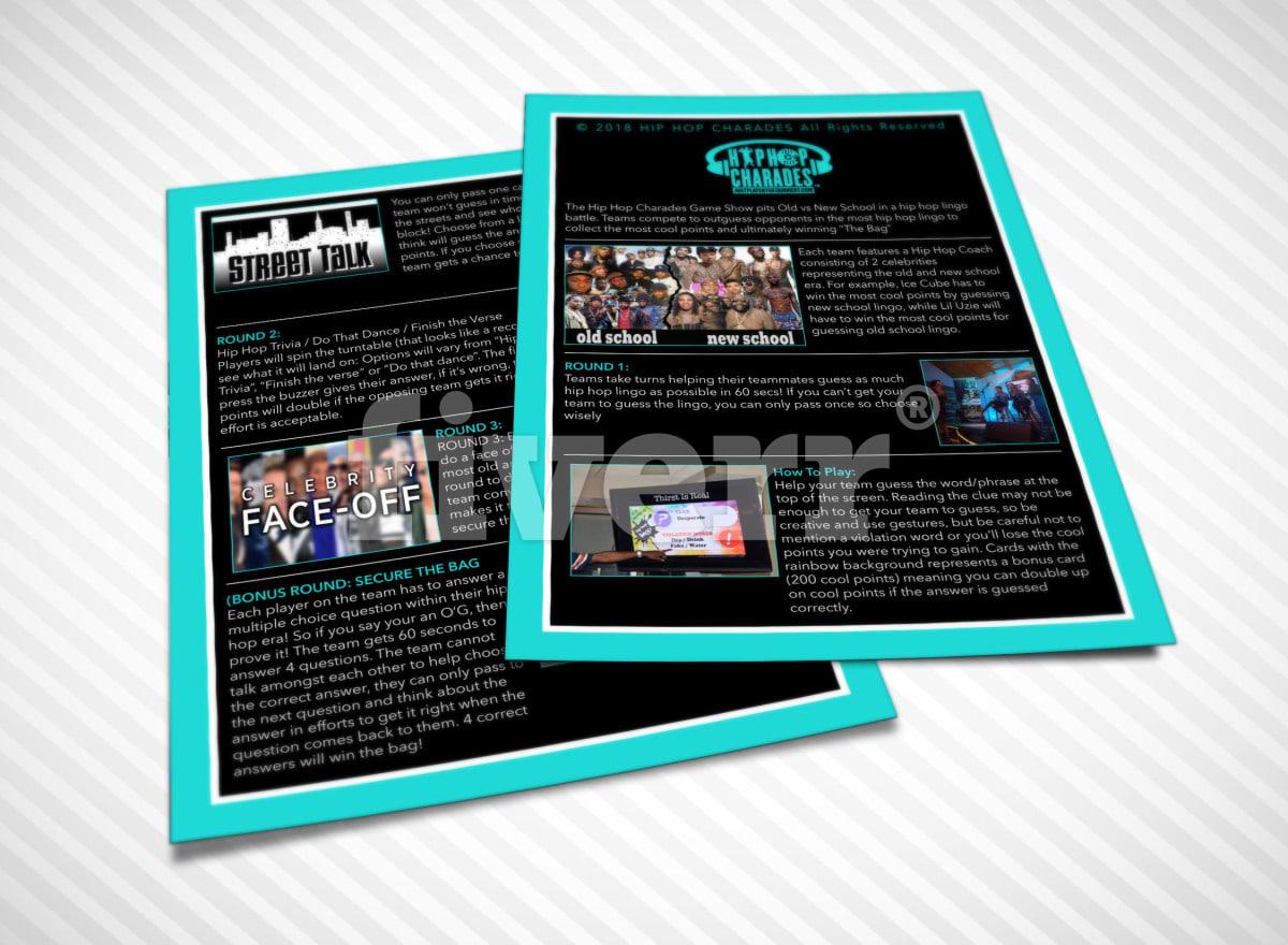 Design An Artist Press Kit Media Epk By Oh Aah Nee Game Show Quiz Buzzer Circuit