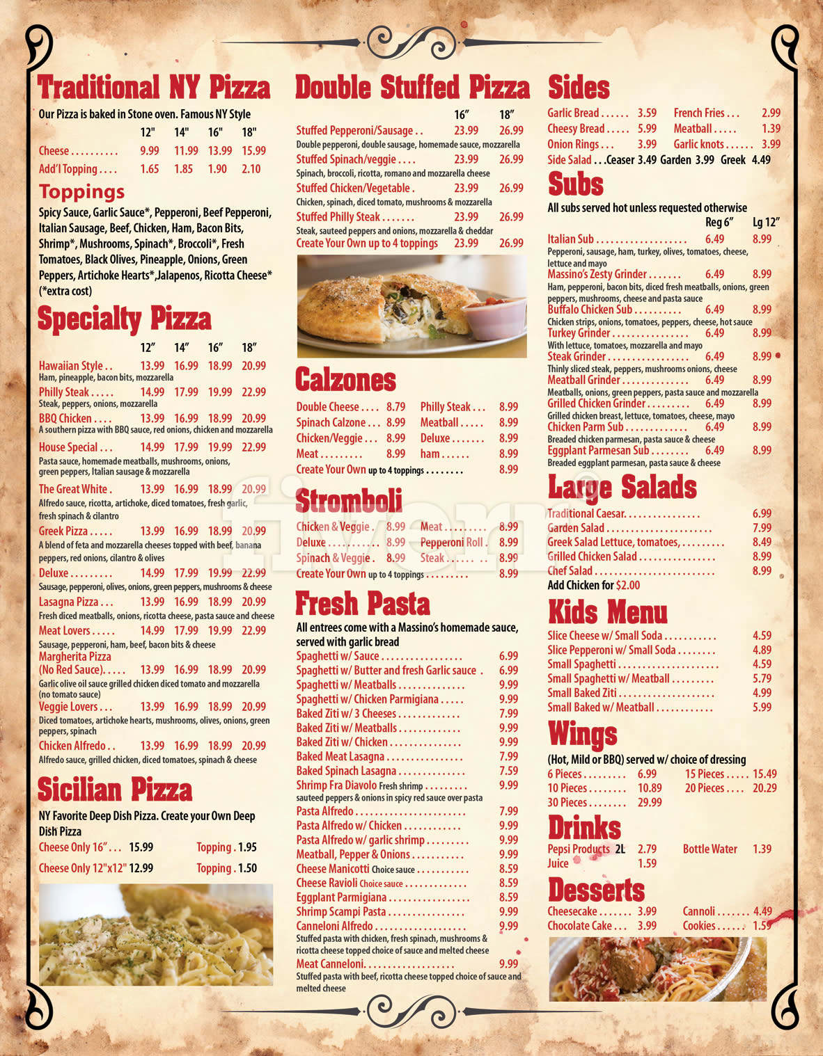 design your classy menu in 24hrs fiverr