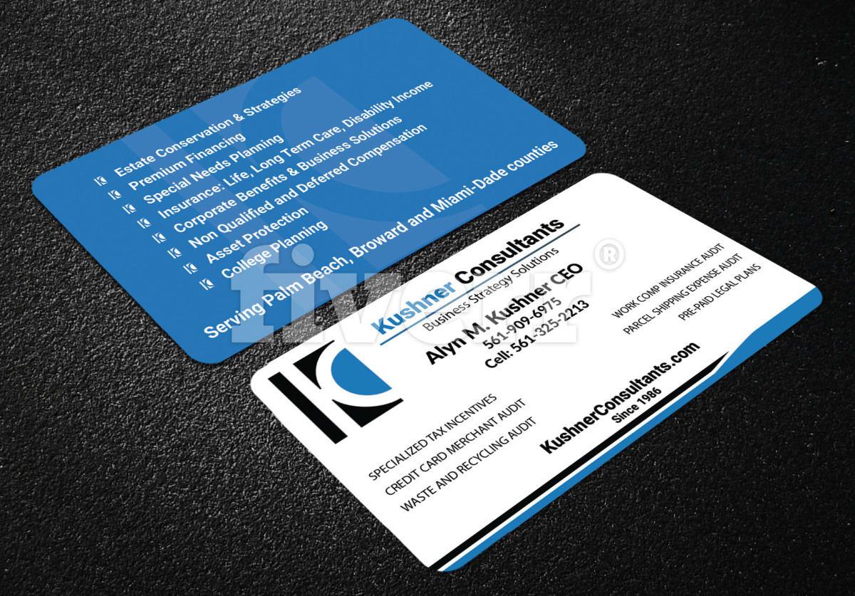 Professional business card design fiverr colourmoves