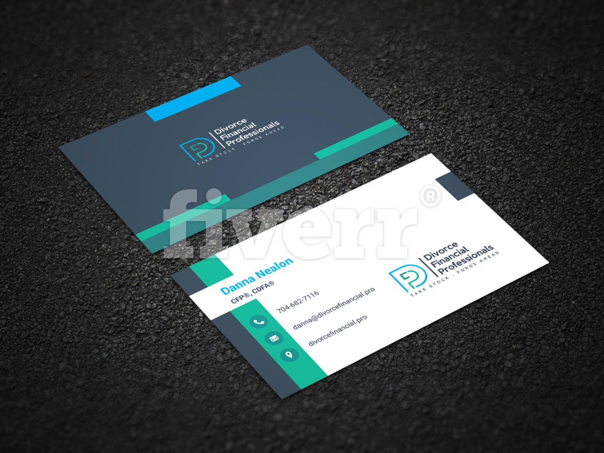 Design professional stylish business card by shaonkhan colourmoves