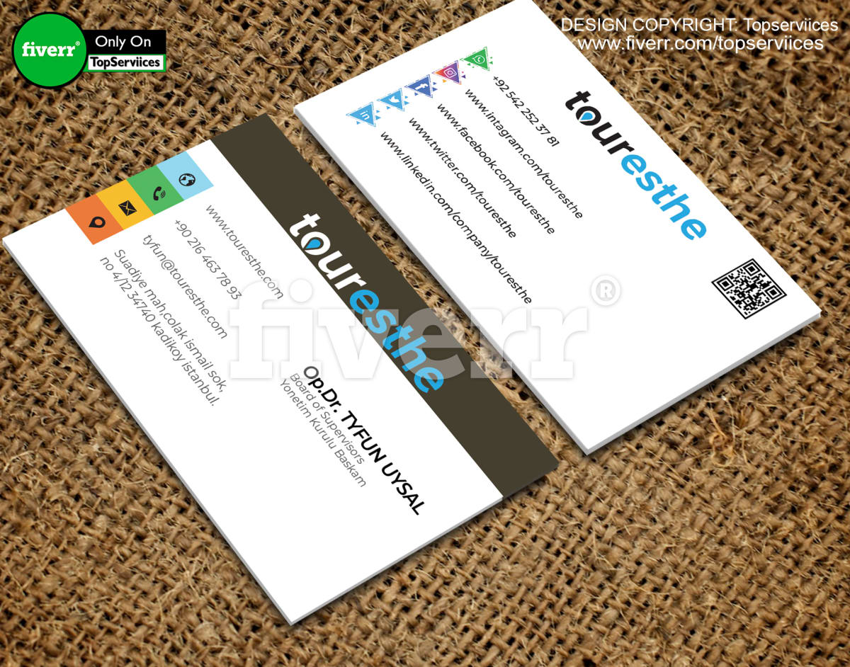 business card letter head businesscard | Fiverr