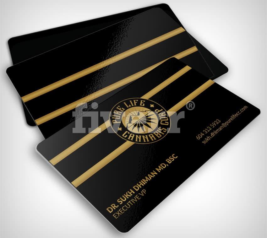 Create luxury business card design by Leeli_lk
