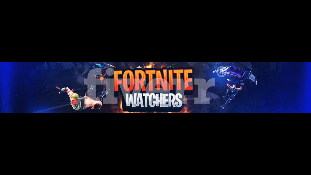 Fortnite Youtube Channel Art | Fortnite Battle Royale Logo
