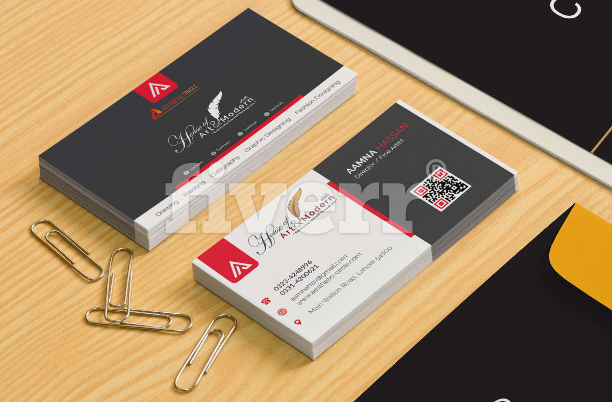 Create business card and stationery items by aestheticcircle reheart Choice Image