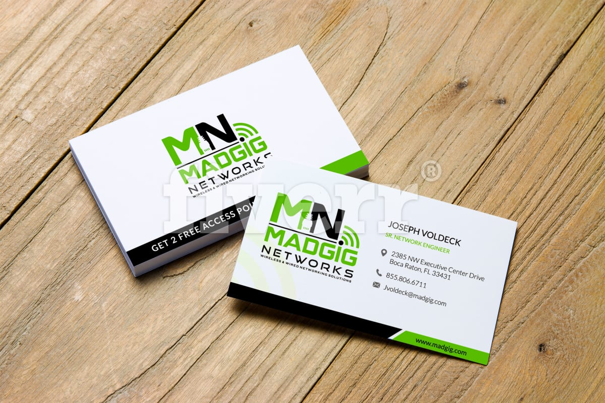 Do creative business card design by mazdesigns reheart