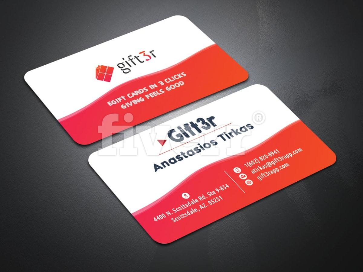 Do modern business card business card design by shimul0071 colourmoves