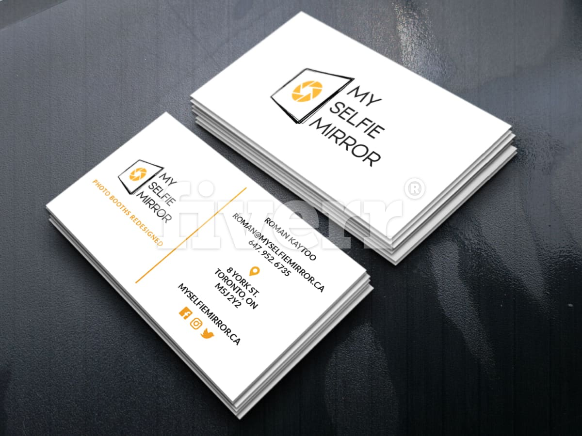 Do vista print, moo print and gold foil business card design by ...