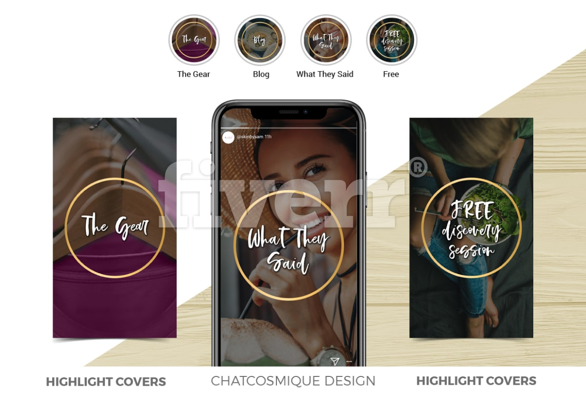 Design Instagram Stories And Hihglight Covers By Chatcosmique Story Ore Blog Food Web Diagram Template