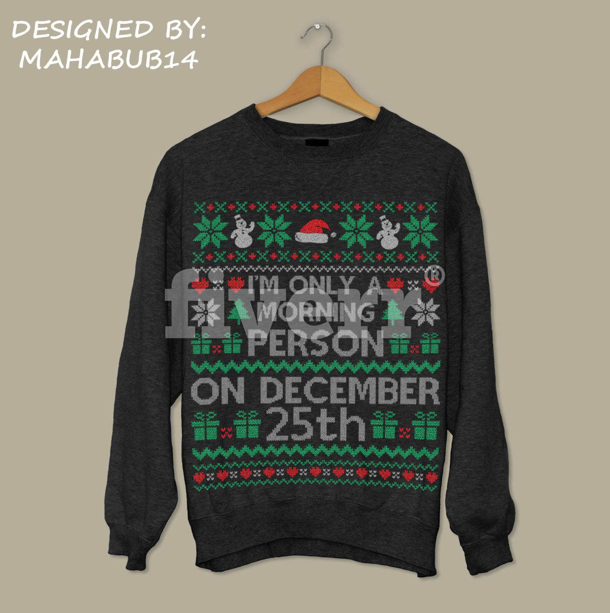 2019 year look- Christmas Awesome sweater design pictures
