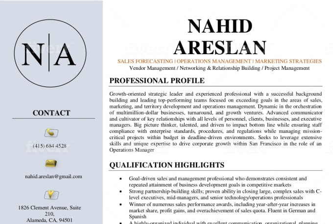 write  ceo executive resume  cover letter  linkedin by career bliss